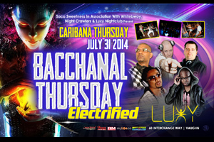 The 6th Annual Bacchanal Thursay inside Luxy Carnival Thursday