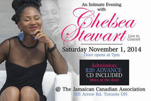 An Intimate Evening With Chelsea Stewart Live at the JCA 11.01.14