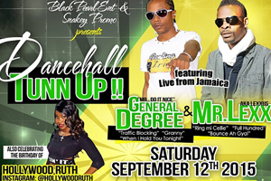 Dancehall Tun Up at Revival