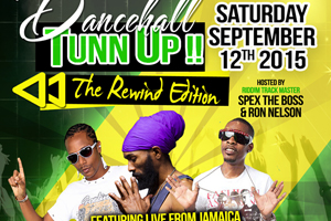 Dancehall Tun Up Saturday September 12th at Revival