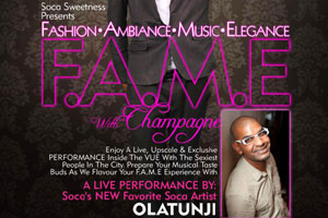 F. A. M. E and Champagne at The Vue--Friday March 21st 2014
