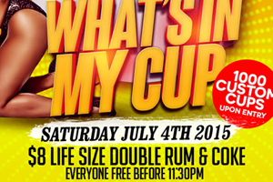 LIFE SATURDAYS Presents What's In My Cup This Saturday Inside Luxy