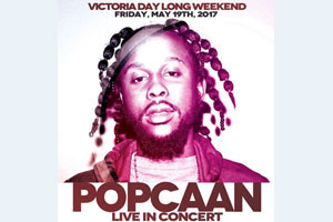 Popcaan live inside Rebel Entertainment Complex Victoria Day Long Weekend