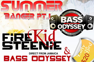 Friday June 3rd at Classic Lounge – Summer Banger Pt. #1 featuring Bass Odyssey + Firekid Steenie