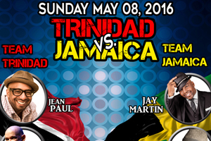 Trinidad vs Jamaica Sunday May 8th inside Queen Elizabeth Theatre